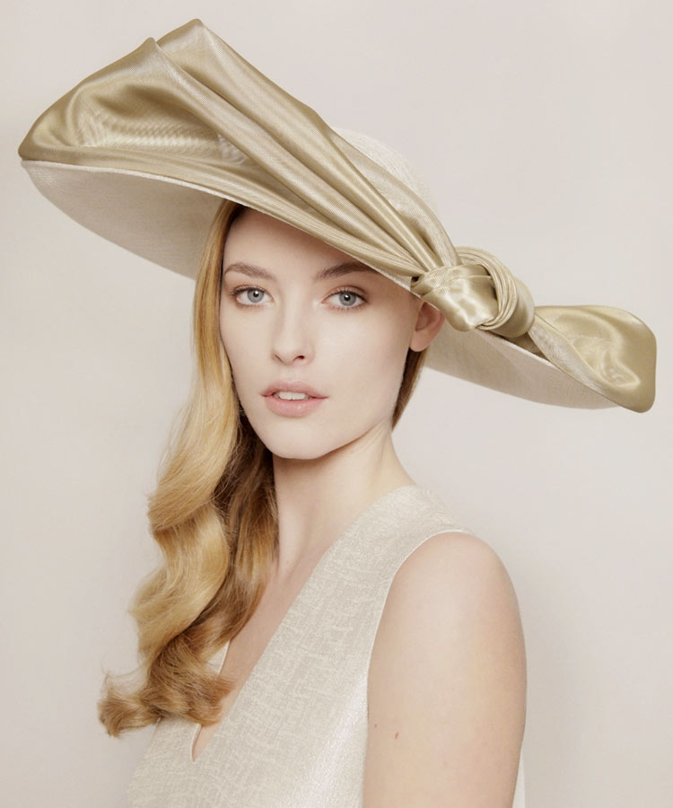 William Chambers headpiece for Royal Ascot