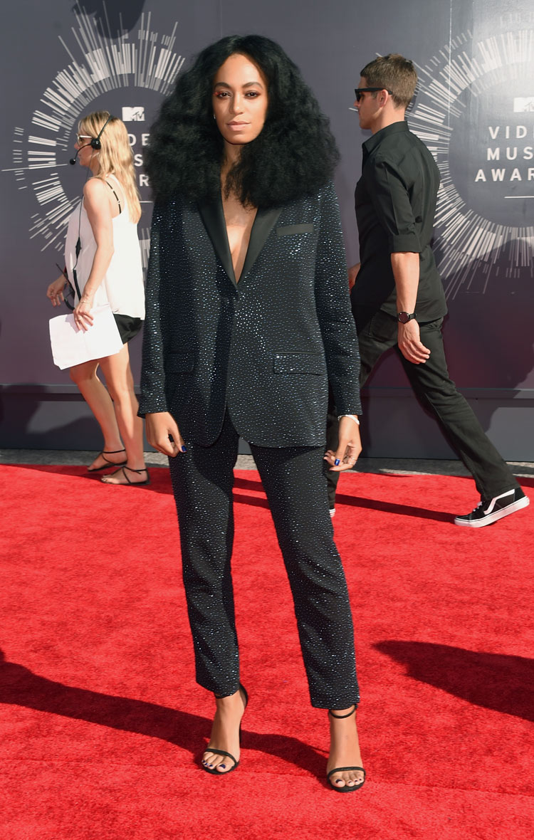 Solange Knowles in H&M at the 2014 MTV VMAS