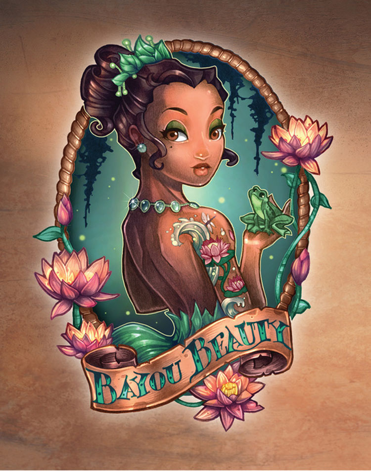 Tiana from 'Princess And The Frog' by Tim Shumate