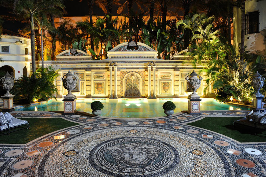 Gianni Versace's home, now The Villa By Barton G, Miami Beach, Florida