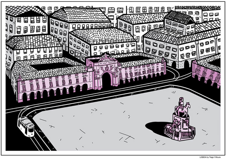 Lisboa by Tiago f Moura