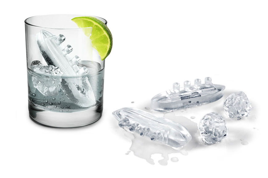 Gin & Titonic ice tray by Fred & Friends