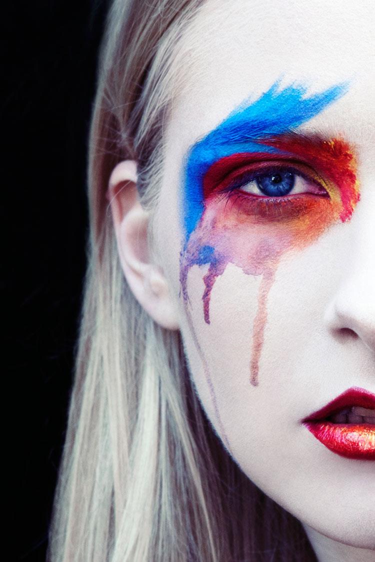 Makeup: Josephine Jones / Photography: Gareth Rhys