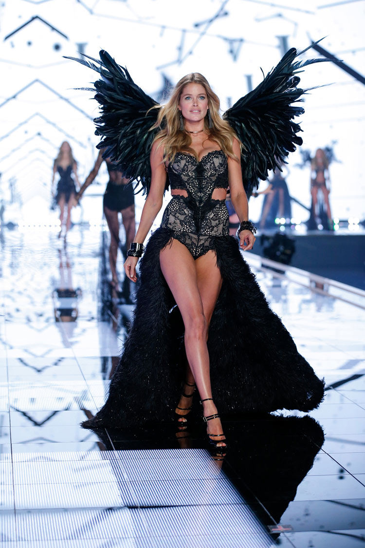 """Angel Ball"", Doutzen Kroes for the 2014 Victoria's Secret fashion show"