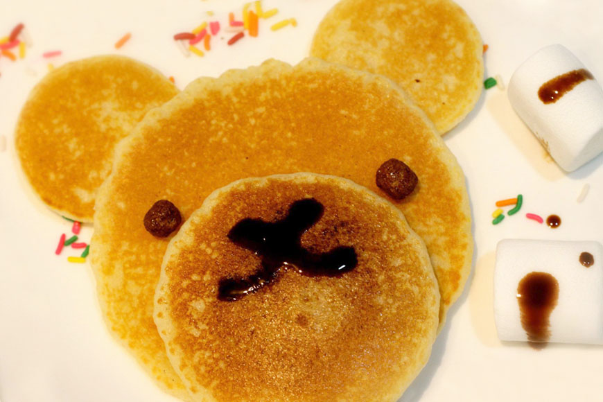 Batter Fluffy Flaps: Teddy Beary Pancakes