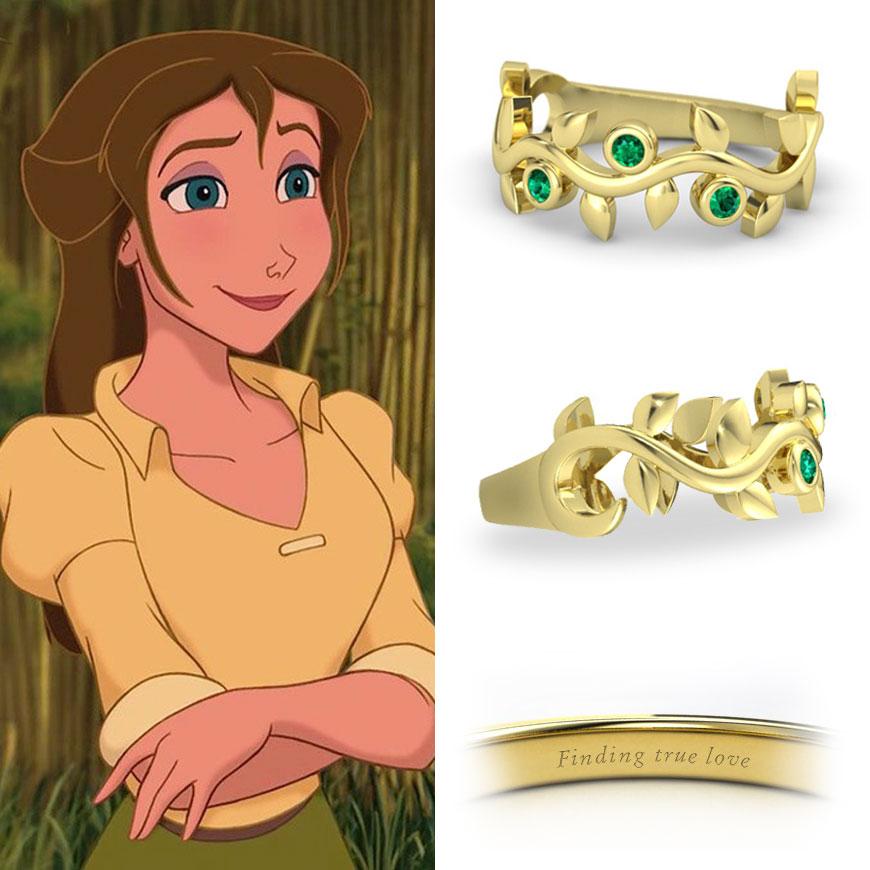 Disney Princess Promise Rings