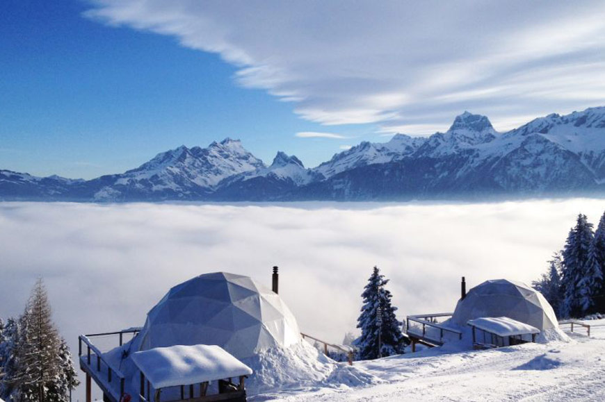WHITEPOD, Les Cerniers, Switzerland