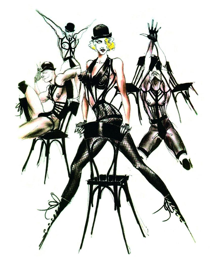 Jean Paul Gaultier, Madona sketches