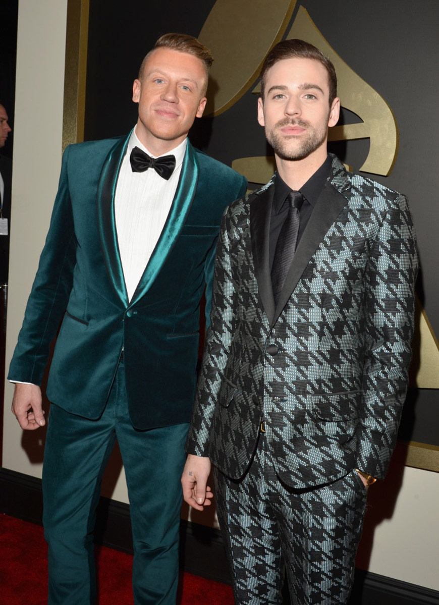 Macklemore and Ryan Lewis at the Grammy Awards