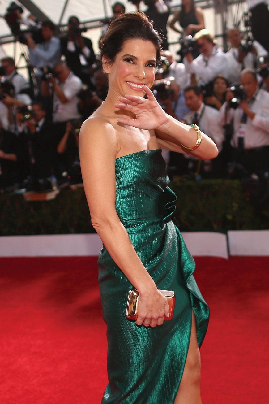 Sandra Bullock in Lanvin at the SAG awards