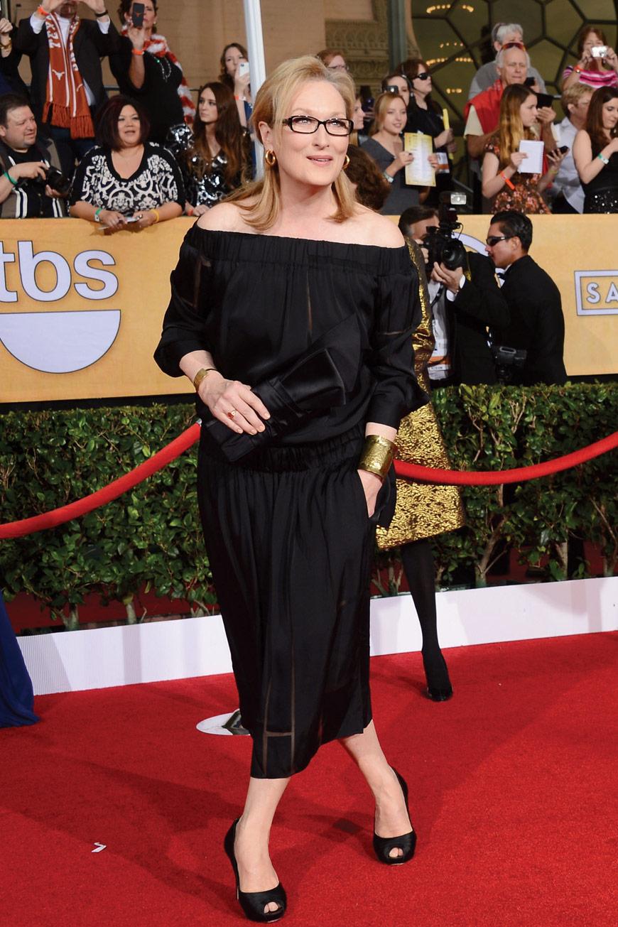 Meryl Streep in Stella McCartney at the SAG awards
