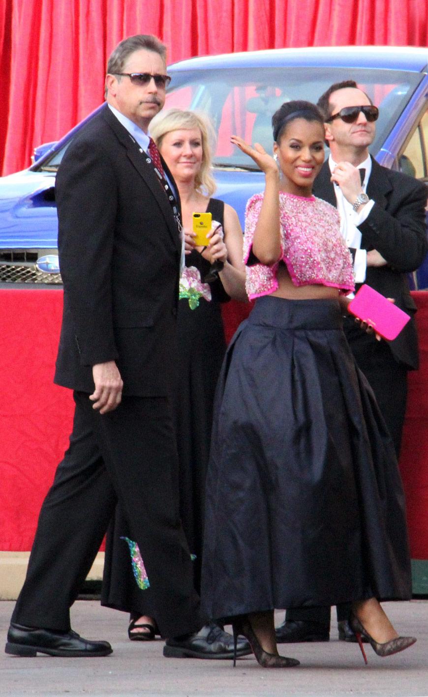 Kerry Washington in Prada at the SAG awards