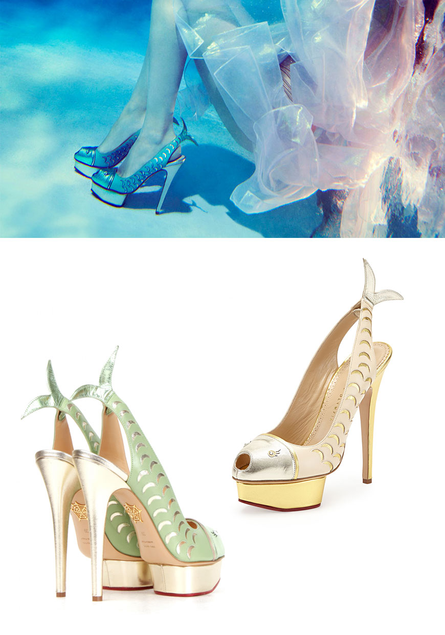 Charlotte Olympia Shoes and Handbags SpringSummer 2014 advise