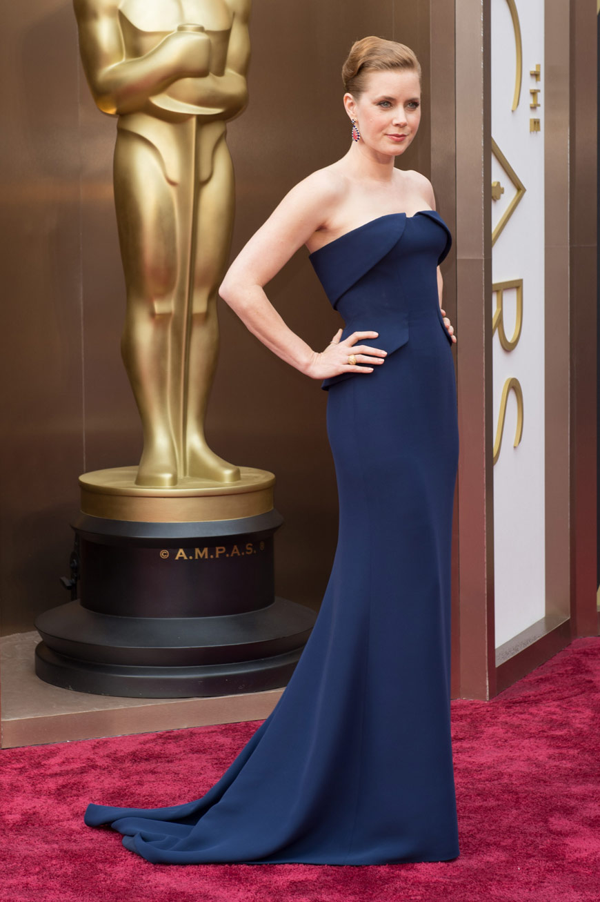 Amy Adams wearing Gucci at the Oscars