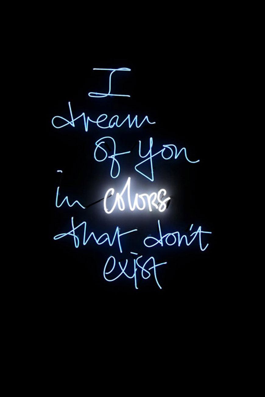 Olivia Steele neon light art