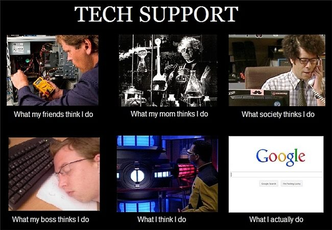 How to Improve Your Business Using Technology | Technology ...  |Technical Support Jokes