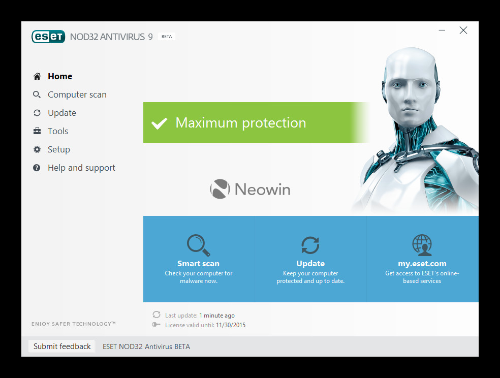 Eset Smart Security And Eset Nod32 Antivirus 9 Beta Released