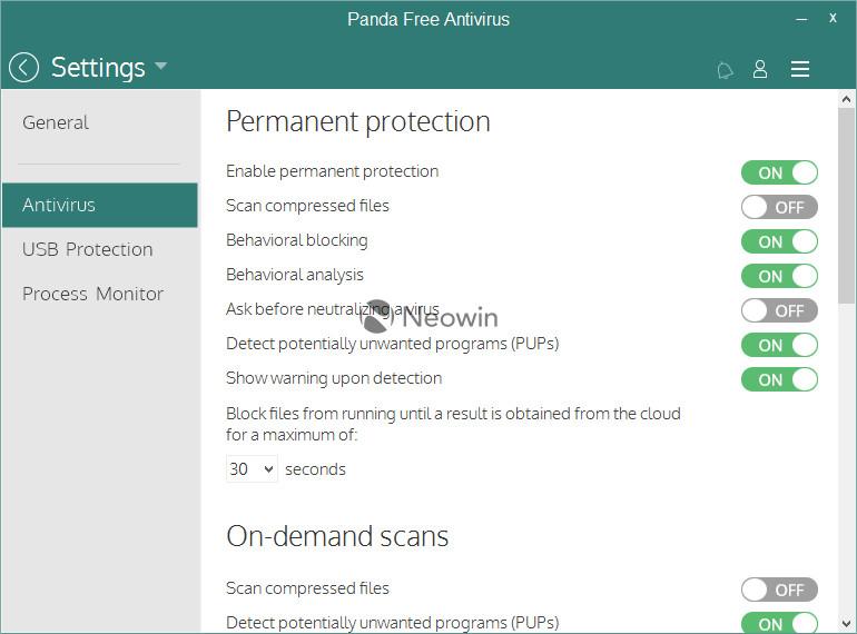 panda cloud antivirus software free