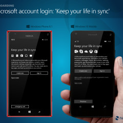 Microsoft account login: 'Keep your life in sync'