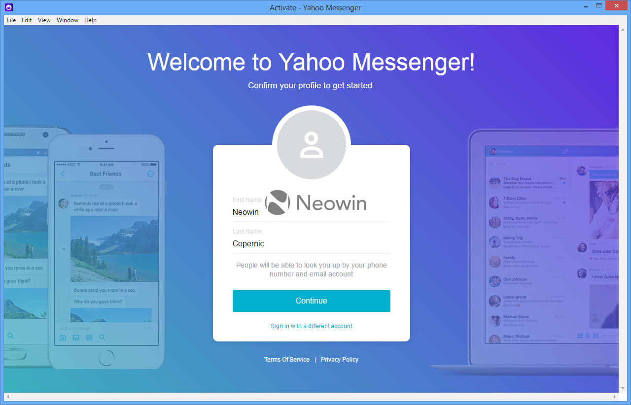 yahoo messenger chat rooms wont open