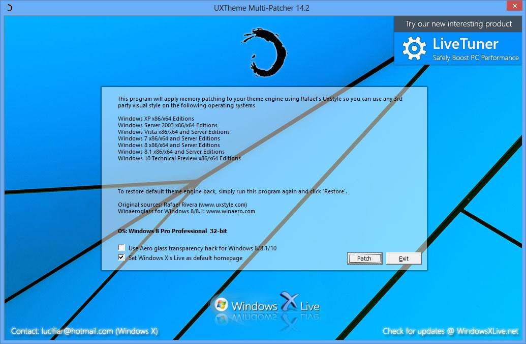 Uxtheme multi patcher v60 Storify