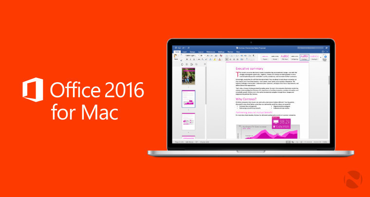 MacBook Pro Touch Bar support now available for Office 2016 for Mac