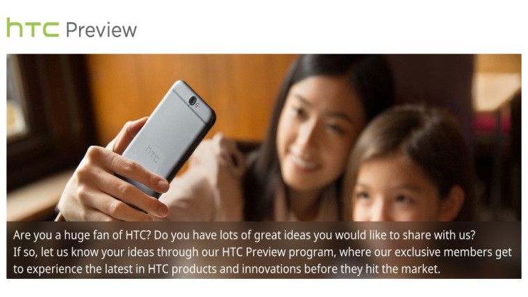 HTC wants your help testing its future products, including ...