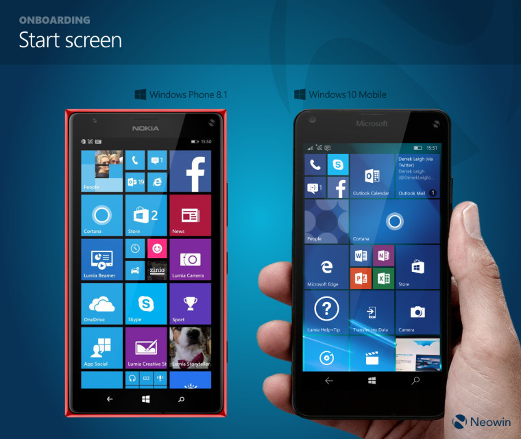 In pictures: Comparing Windows Phone 8.1 and Windows 10 Mobile ...