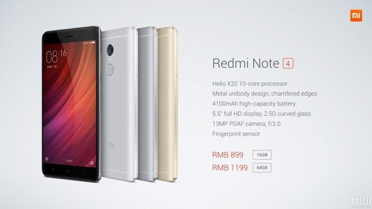 Купить Xiaomi Redmi Note 4 64GB  svyaznoyru