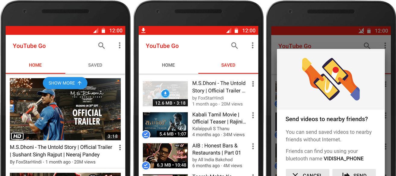 Risultati immagini per youtube go app