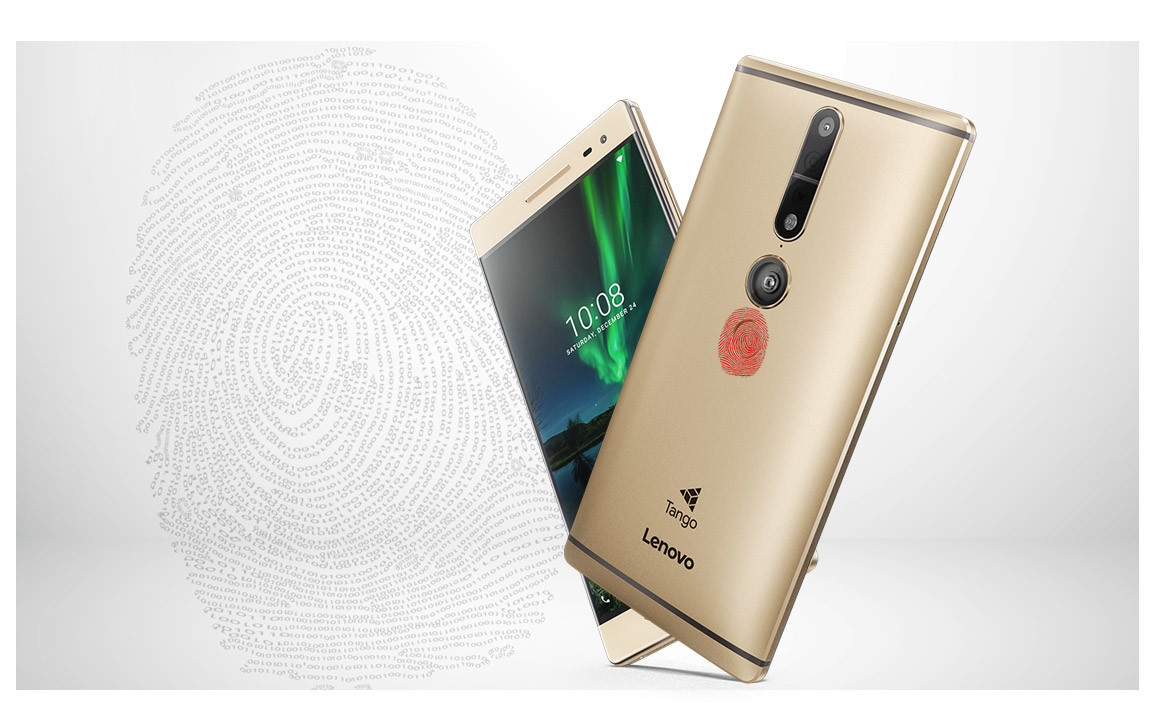 Less than a year after launch, Lenovo says first Google Tango AR