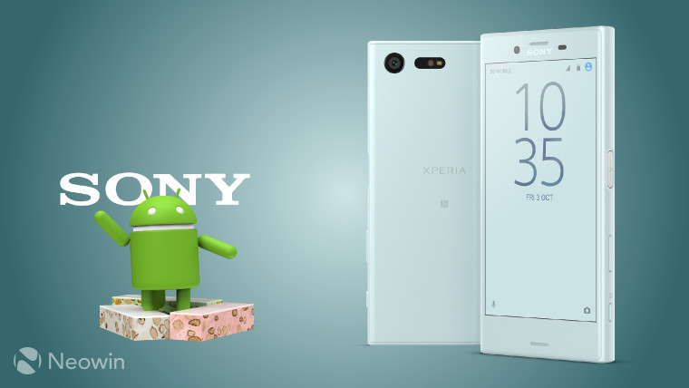 Sony Xperia X and X Compact Get Android 7.1.1 Update