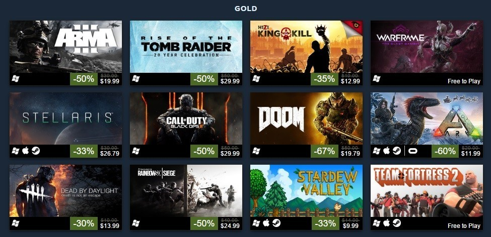 490371118011b Valve reveals its top 100 best selling games of 2016 - Neowin