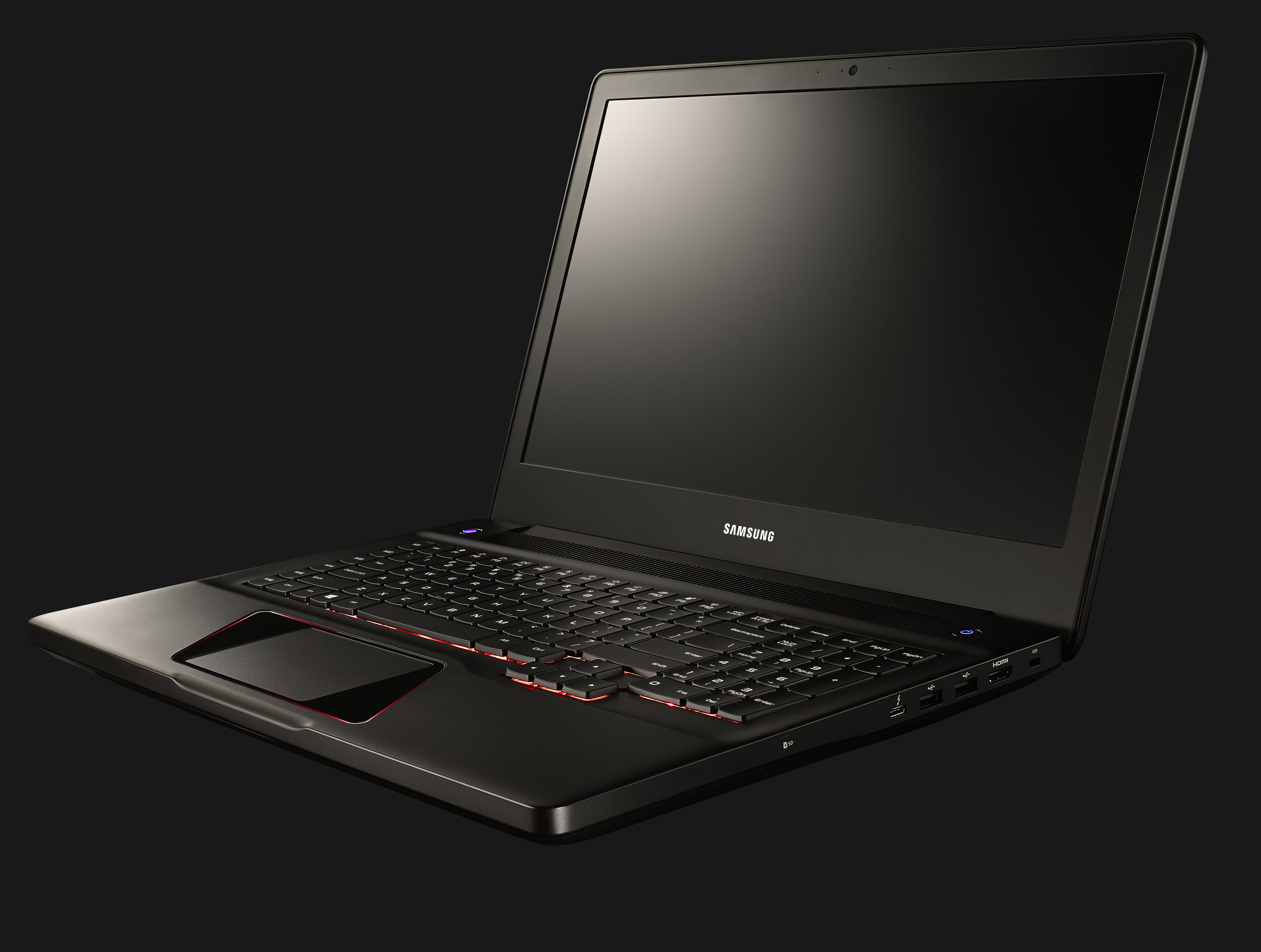 Samsung shows off Notebook Odyssey gaming laptop