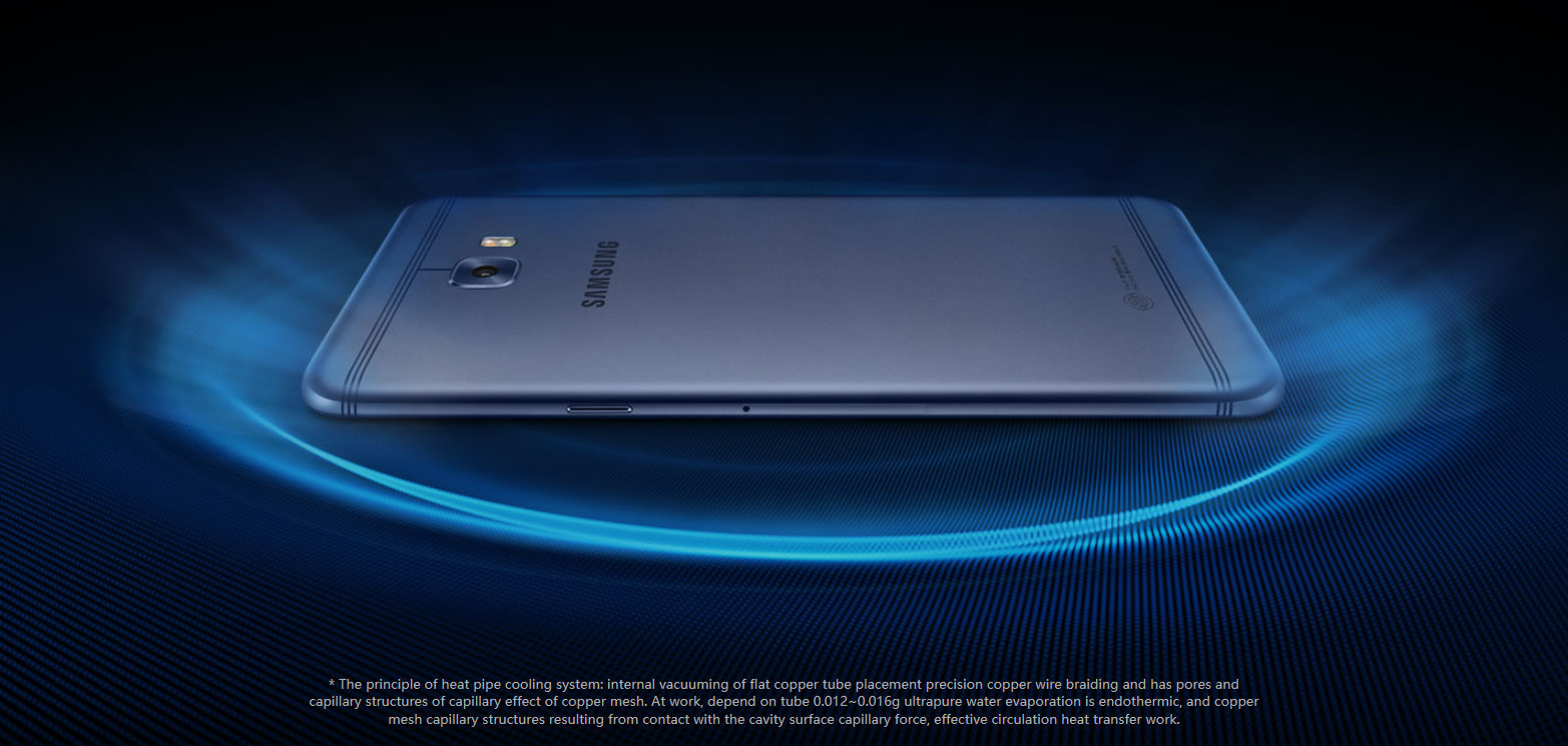 Samsung launches 5 7-inch Galaxy C7 Pro with liquid cooling
