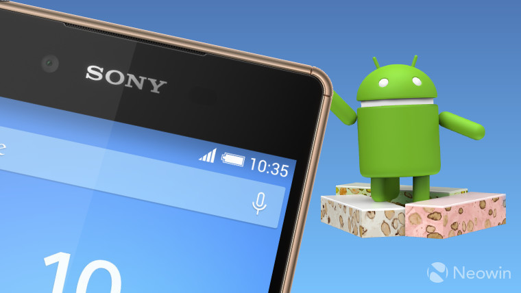 Sony rolls out Android 7.1.1 Nougat to Xperia Z5 range, Xperia Z4 Tablet, and Xperia Z3 Plus