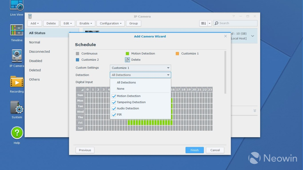 Acalendar Anleitung review of synology's surveillance station, a free ip camera