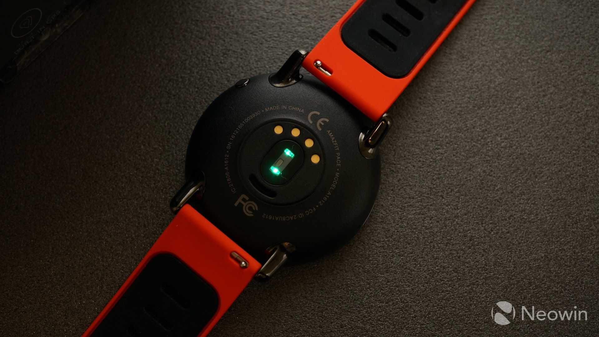 Review Amazfit Pace Is An Activity Tracker That Needs To Hit The Xiaomi Equator Underside Of Watch Houses Heart Rate Sensor And Charging Pins While Underbelly Made Plastic It Feels Good On Wrist