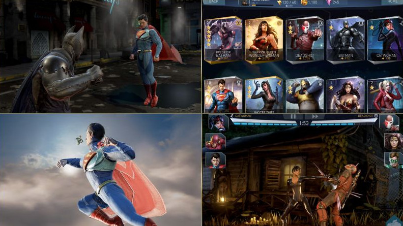 Injustice 2 mobile soft launch produces gameplay trailer featuring Cyborg and Scarecrow