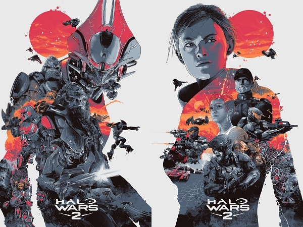 Halo Wars 2 limited edition prints will be available for