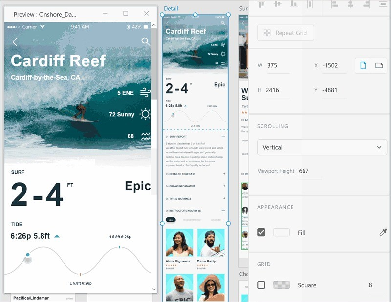 The February update for Adobe XD includes the ability to