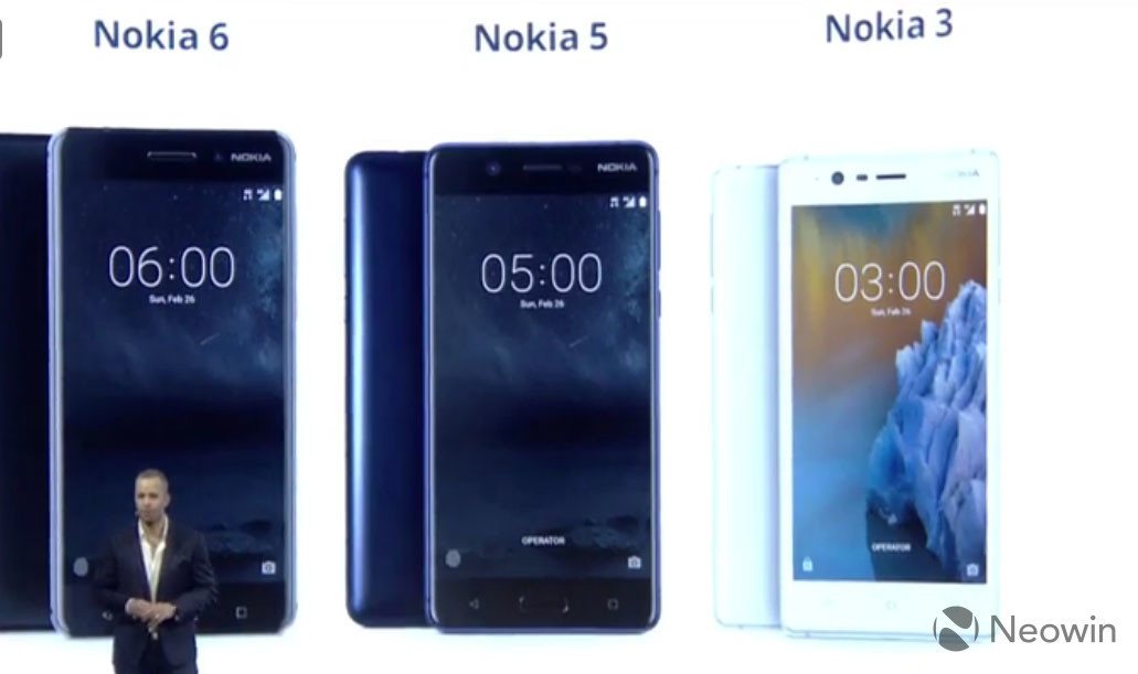 hmd global formally announces the nokia 3 and nokia 5   neowin