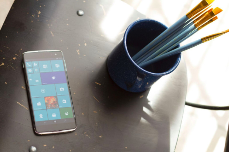 Microsoft opens pre-orders for Alcatel's Windows 10 Mobile flagship in Germany, for €479.99