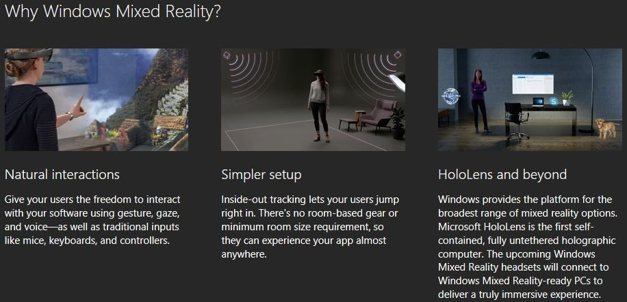 Microsoft has renamed Windows Holographic to Windows Mixed