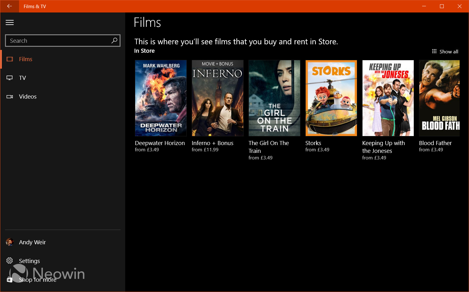 Movies \u0026 TV app gets a new look on Windows 10 PCs and phones, now