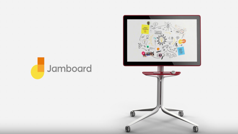 Google's Jamboard to begin competing with Microsoft's Surface Hub in May