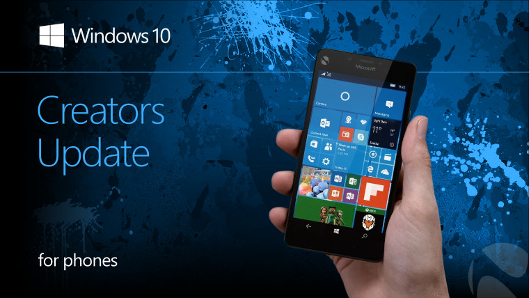 The Windows 10 Mobile Creators Update won't be coming to