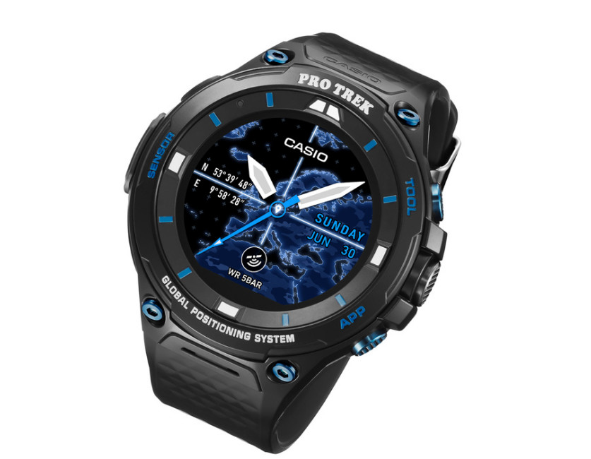 Casio PRO TREK Smart WSD-F20S Smartwatch Announced