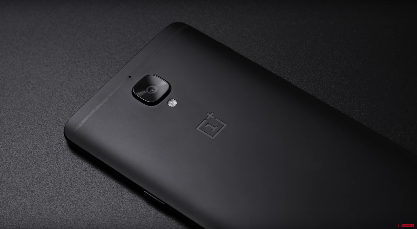 producing the midnight black oneplus 3t results in roughly
