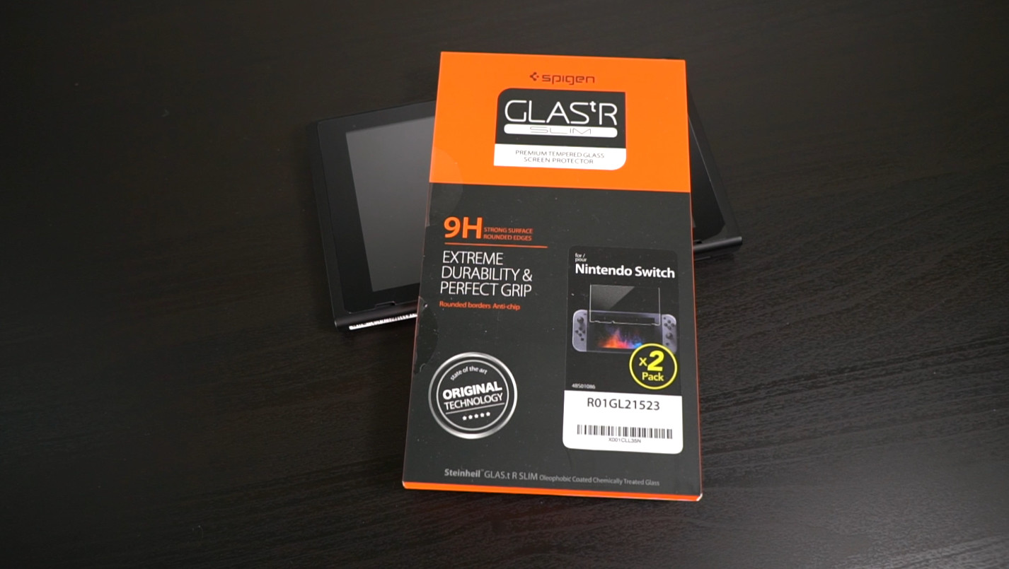 best service fcb57 df7cf Unboxing and application of the Spigen GLAS.tR SLIM HD screen ...